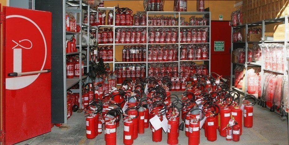 Impianti antincendio - Estintori